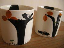 木の実ととりカップ